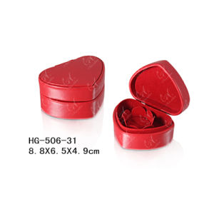 Heart-Shaped Fashionable and Popular Jewelry Box pictures & photos