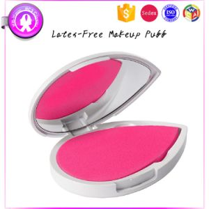 Heart Shape Non-Latex Makeup Sponge with Mirror Set pictures & photos