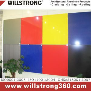 Aluminum Composite Panel PVDF Coating for Exterior Wall Cladding pictures & photos