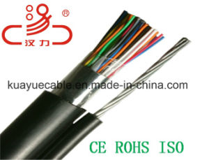 Drop Wire 1X2X0.5cu+Steel Wire Telephone Cable/Computer Cable/ Data Cable/ Communication Cable/ Connector/ Audio Cable pictures & photos
