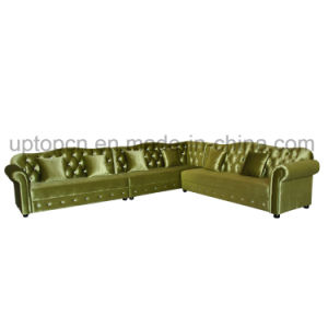Elegant Bar Booth Sofa with Wooden Fram (SP-KS325) pictures & photos