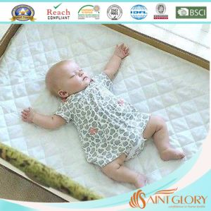 Soft Baby Crib Fitted Sleep Well Thin Mattress Pad pictures & photos