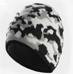 Custom Jacquard Knitted Winter Ski Hat for Sport pictures & photos