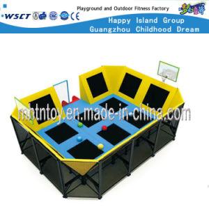 Indoor Play Equipment Kids Trampolines for Sale (HF-19701) pictures & photos