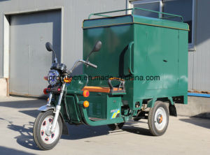 Carbin Tricycle Electric Cargo Tricycle 1000W Brushless Motor pictures & photos