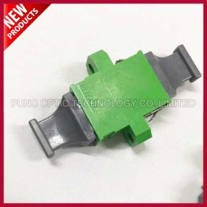Plastic Singlemode Simplex MPO MTP Fiber Optic Adapter For Gigabit Ethernet pictures & photos