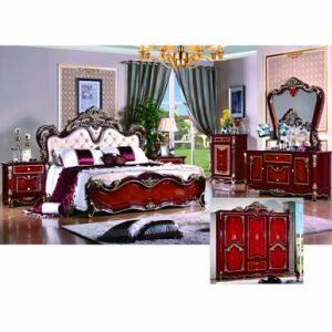 Bed Set for Home Furniture (W816) pictures & photos