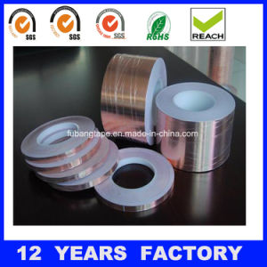 50micron Single Sided Copper Foil Tape with Liner pictures & photos