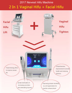 2 in 1 Hifu Vaginal Tightening Machine for Body Slimming and Face Lift pictures & photos