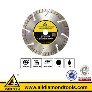 Hot Pressed Diamond Split Turbo Saw Blade for Cutting Concrete pictures & photos