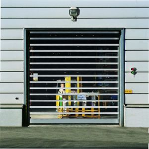 High Speed Fast Roller Shutter Garage Door pictures & photos