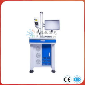 Plastic Desktop Fiber Laser Marking Machine with Ce Certificate pictures & photos