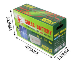 Whc 24V and 12V 150ah Battery for Solar Energy System in Africa pictures & photos