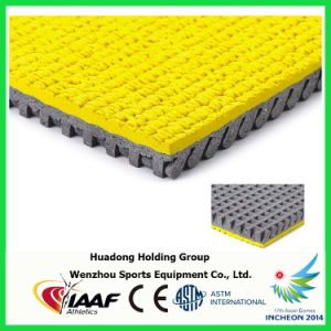 13mm Rubber Flooring Roll, Sports Run Mat, Prefabricated Synthetic Running Track pictures & photos