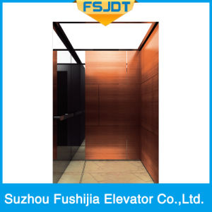 Passenger Lift with Gearless Traction Machine From Professional Factory pictures & photos