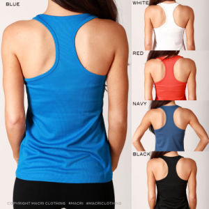 Womens Cool Dry Polyester Training Singlets/Tank Top/Vest (A851)