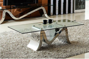 High Quality Tea Table Glass Tea Table Design pictures & photos