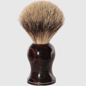 High Quality Badger Hair Wholesale Acrylic Handle Shaving Brush pictures & photos