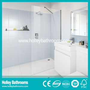 Popular Walk-in Shower Screen with Tempered Laminated Glass (SE925C)