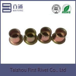 9.4X10mm Zinc Plated Flat Head Full Tubular Clutch Rivet pictures & photos
