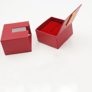 Factory Price 100% Raw Material Drawer Packaging Ring Box (J32-A1) pictures & photos
