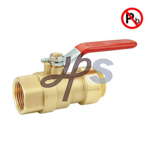 Brass Lead Free Push Fit Fnpt Ball Valve pictures & photos