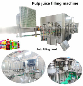 Complete System Fruit Juice and Vegetable Drink Beverage Processing Filling Packaging Production Line for Glass Bottle&Plastic Bottle pictures & photos