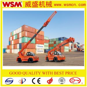 Wsm 12 Tons Crane for Unloading Marble Slab on The Port with Ce Certificate pictures & photos