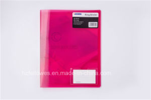 A4 Size PP 2 Ring Binder File Folder pictures & photos