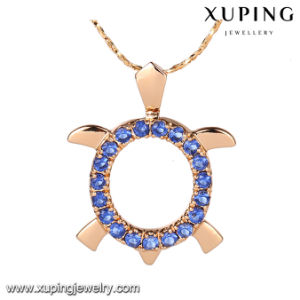 31444 New Arrival Jewelry 18k Gold Tortoise Design Pendant Necklace pictures & photos