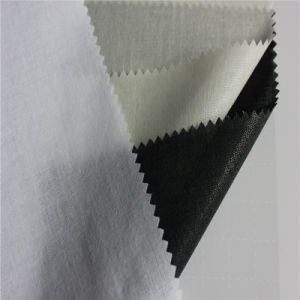 Cotton Woven Shirt Collar Fusing Interlining Fabric for Causal Shirt pictures & photos