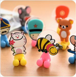 Various Cartoon Animal Head Toothbrush Holder Suction pictures & photos
