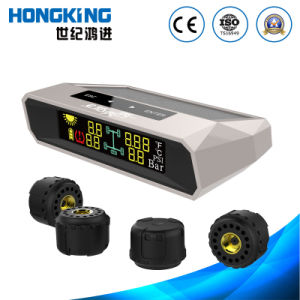 Solar Energy TPMS External Sensor for 4 Wheels Vehicles, Clear Color LCD display pictures & photos