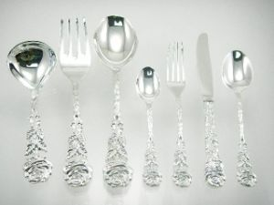 Silver Plated Dinnerware Cutlery Set pictures & photos
