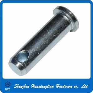 Zinc Plated Steel DIN1444 Flat Head Clevis Pin with Hole pictures & photos