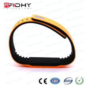 New Product! RFID NFC Silicone Wristband with Double Color-Hywgj13 pictures & photos