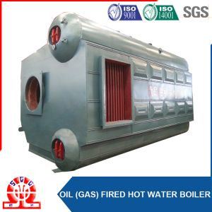 Double Drum Gas Fired Wet Back Assembled Boiler pictures & photos