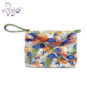 High Quality Cotton Printing Clutch Bag with Sedex 4p