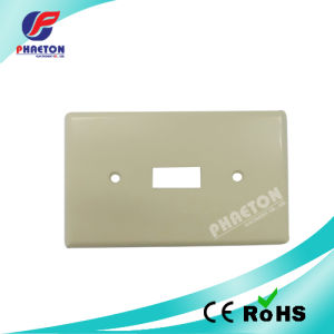 Wall Plate Single Faceplate pictures & photos