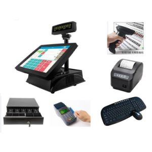 12 Inch All-in-One Touch Screen Point of Sale Cash Register/POS Terminal for Restaurant