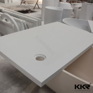 Building Material Sanitary Ware Artificial Solid Surface Stone Shower Base pictures & photos