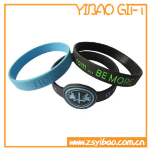 Custom Silicone Wrist Band with Debossed Logo (YB-SW-04) pictures & photos