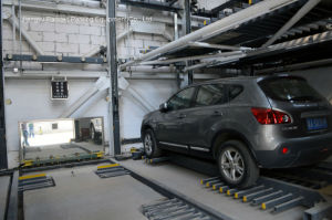 High-Speed Tower Type Puzzle Parking System pictures & photos