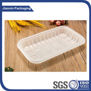 Disposable Colorful Plastic Tray for Vegetable pictures & photos