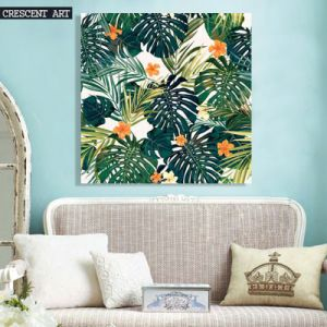 Cycas Wall Art Tropic Flowers Canvas Print pictures & photos