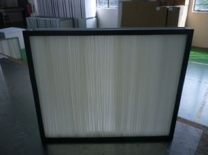 Large Air Flow Fb Medium Efficiency Panel Filter for Electronic pictures & photos