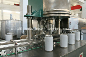 Automatic Alu Can Filling and Sealing Machine with Ce Certificate pictures & photos