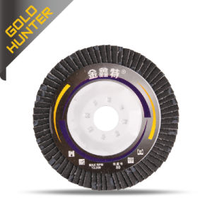 Jinxinte Flap Polishing Disc 90 Iron Cover pictures & photos