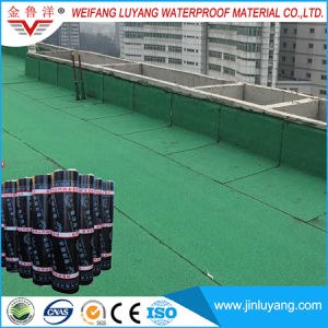 China Supply Cheap Price Self Adhesive Bitumen Waterproof Roofing Membrane pictures & photos