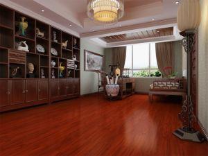 Wine Color Embossed Laminate Flooring pictures & photos